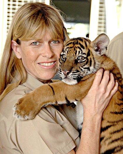 Terri Irwin http://m.scotsman.com/edinburgh-evening-news/features/quot-we-did-it-together-quot-1-702575