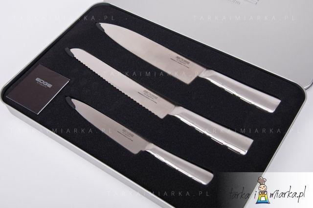 Zestaw 3 noży Edge+opakowanie