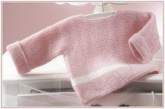 jersey bebé sencillo de patrones katia
