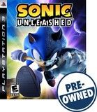 Sonic Unleashed — PRE-Owned - PlayStation 3