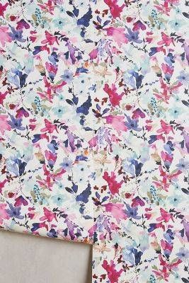 Anthropologie Wildflower Study Wallpaper | Domino