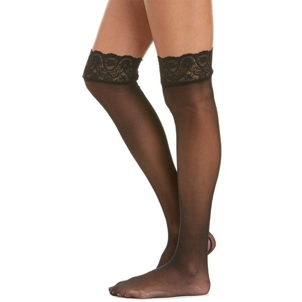 Commando? Sexy Stocking ($21) ❤ liked on Polyvore featuring intimates, hosiery, tights, black, commando stockings, lacy stockings, patterned tights, sexy stockings and sexy hosiery