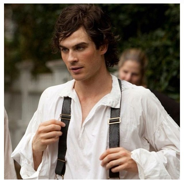 Human Damon Salvatore- 1864 | Mystic Falls | Pinterest ...