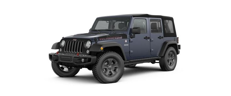 2017 Jeep Wrangler Unlimited - On and Off-Road Capable SUV