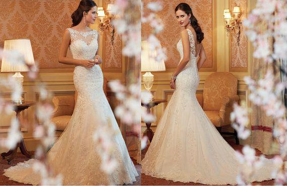 elegant wedding dresses for boats