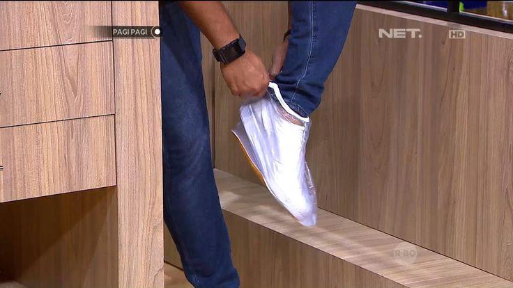 Sepatu Anti Hujan - Inovasi Masa Kini