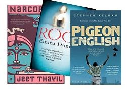 Deal of the Week - Award Nominated Fiction. Three Man Booker Shortlisters: Room by Emma Donoghue, Pigeon English by Stephen Kelman & Narcopolis by Jeet Thayil. Get your Deal here: http://www.readerswarehouse.co.za/deal-of-the-week-award-nominated-fiction