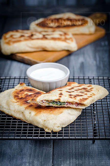 Gozleme – turecki chlebek