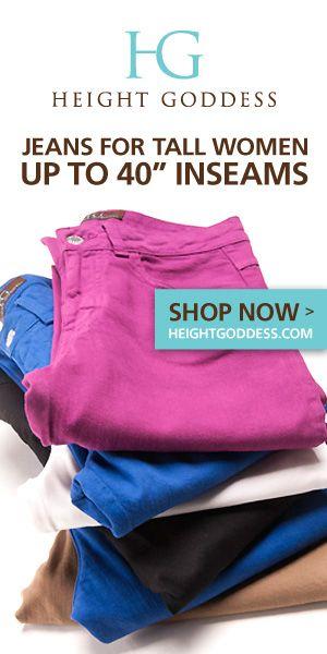 HEIGHT GODDESS Jeans for Tall Women