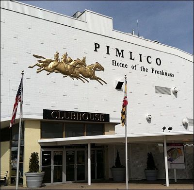 Pimilico Race Track, home of the Preakness