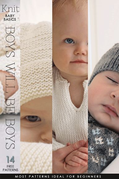 A charming collection of free patterns with boys in mind but you'll want them for girls too! | DiaryofaCreativeFanatic