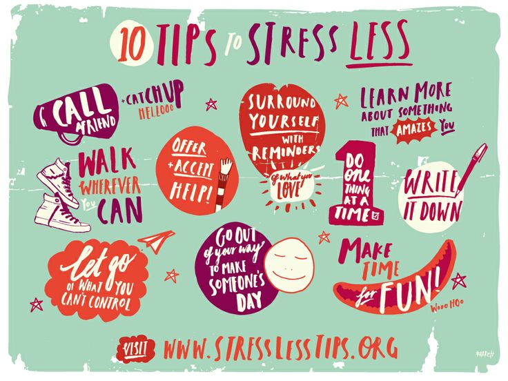 10 Tips On How To Stress Less At University