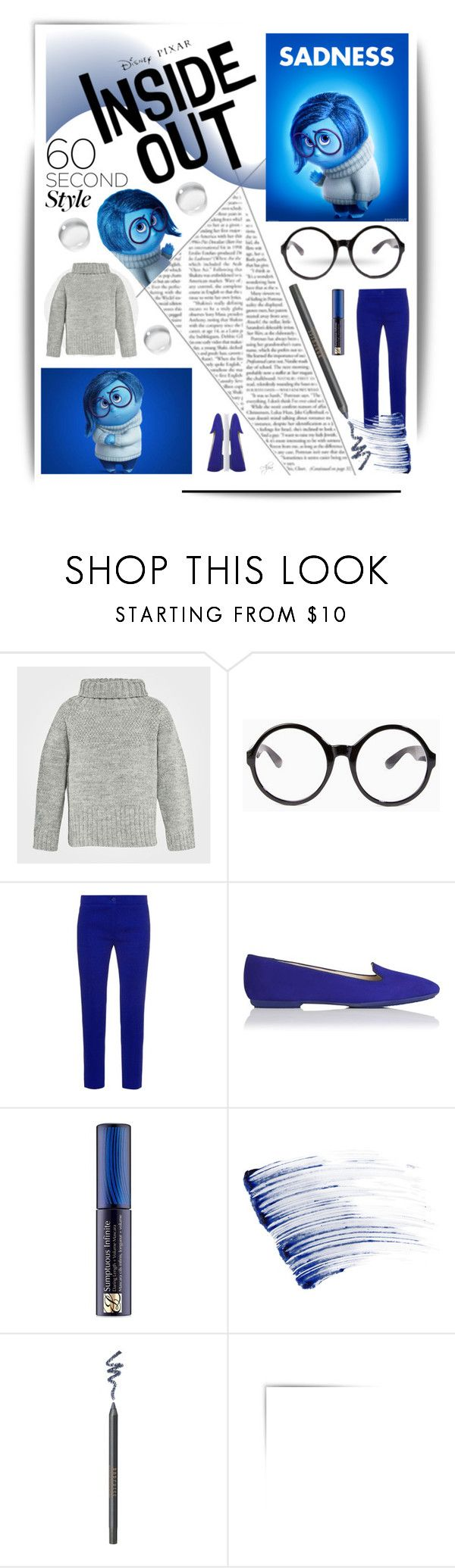 """60-Second Style: Disney Character Costume"" by alevalepra ❤ liked on Polyvore featuring Tobi, Etro, L.K.Bennett, Estée Lauder, Lancôme, Borghese, Halloween, 60secondstyle and disneycharactercostume"