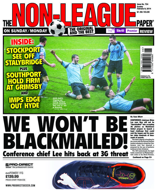 The Non-League Paper - February 9,2014 : FA TROPHY TALES It's Havant vs Gosport and Grimsby vs Cambridge United in the final four, TIM'S GOT TIME Stuart Hammonds catches up with veteran Conference striker Tim Sills, FANTASY FOOTBALL How's your team doing in our popular Fantasy Non-League competition? and more....