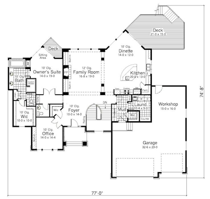 4571 Best House Plans Images On Pinterest Master Suite