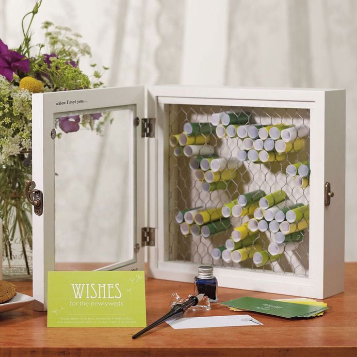 34 best vintage wedding decorations images on pinterest wedding country charm wooden wish box vintage modern rustic wedding guest books wishing wells junglespirit Image collections