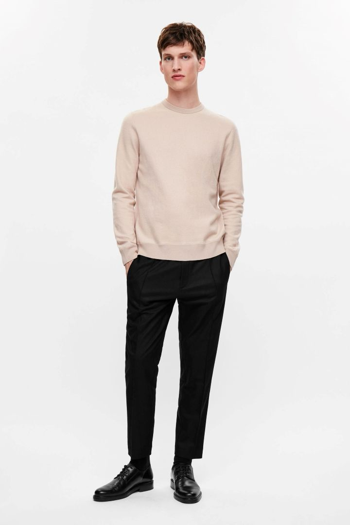 COS image 1 of CA Marvel boiled wool in Blush