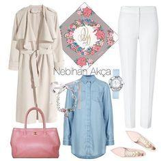 Bu çok eğlenceli  Hepsini almış giymiş kadar oldum  #nebihanakca #ootd #hijaboutfit #hijabisfashion #hijabista #blogger #fashionblog #hijabhigh #instabloggers