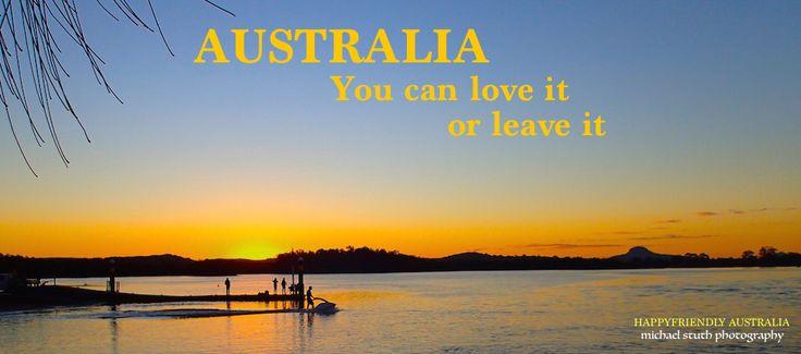 I love Australia