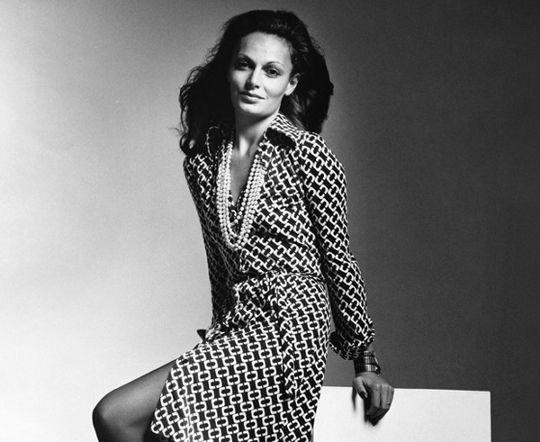 Dvf Dresses History Career wardrobe history