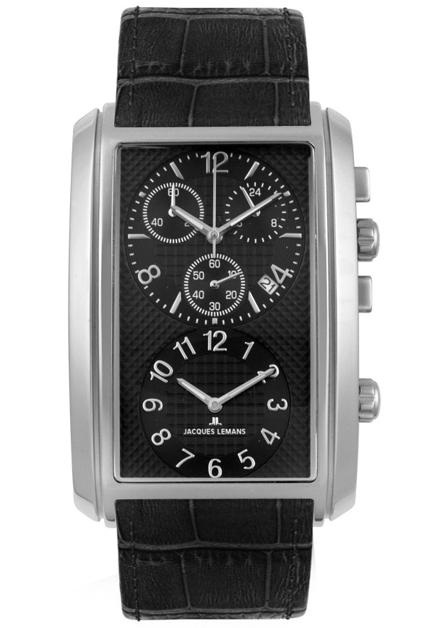 Price:$149.40 #watches JACQUES LEMANS 1392A, Collectively matching anyone's style, this classy Jacques Lemans, with its cool, bold design, will elegantly go with any suit.
