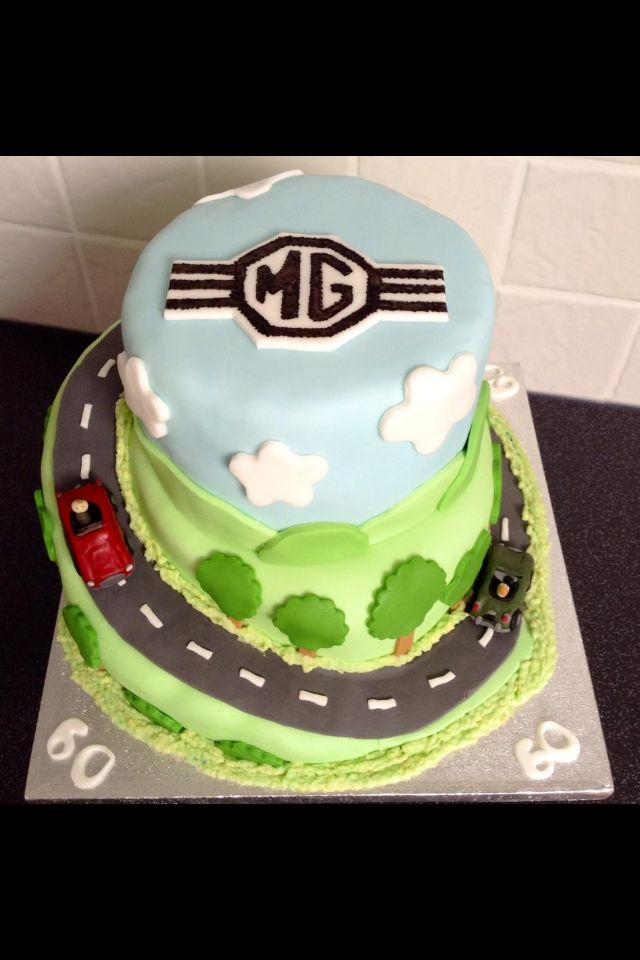 8 best Car cakes images on Pinterest Car cakes Mg cars and