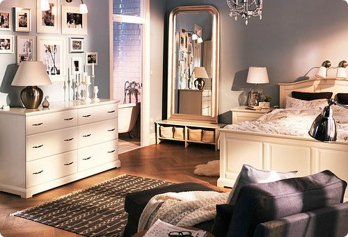 Black and white and brown neutral colors of perfection for Blair waldorf bedroom ideas