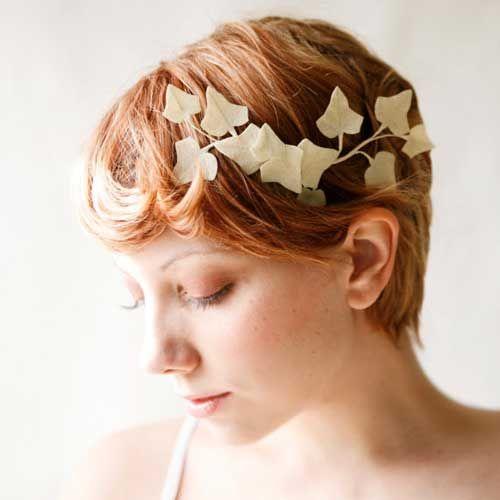 short hair wedding styles - Cerca con Google