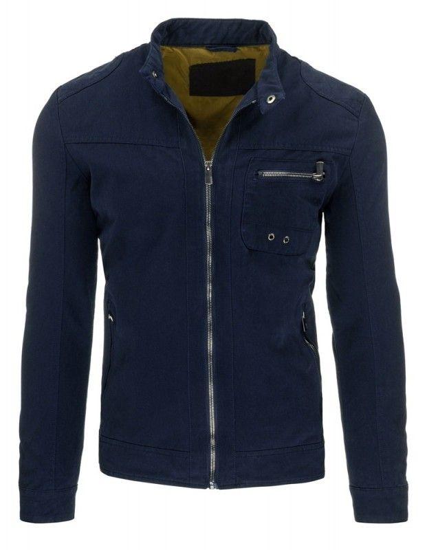 Pánská jarní bunda - Ferdinand, modrá
