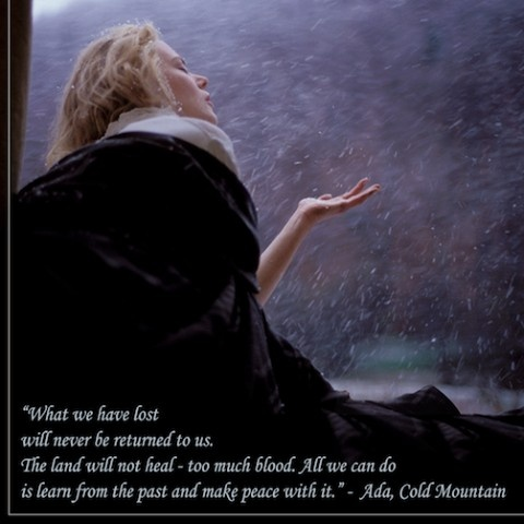 Favorite line from Cold Mountain