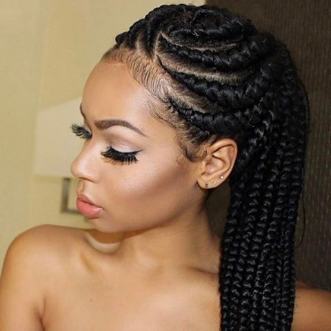 Hair Braids Style Captivating 17 Best Images About Natural Hair Care On Pinterest  Braid Hair