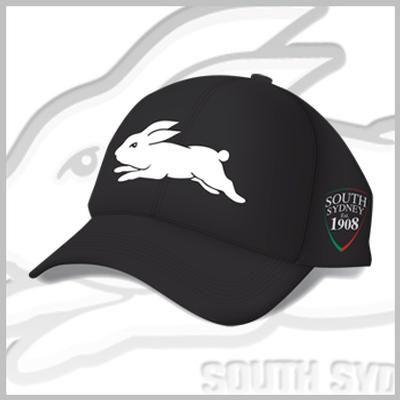 Rabbitohs 2014 Black Media Cap $29.95