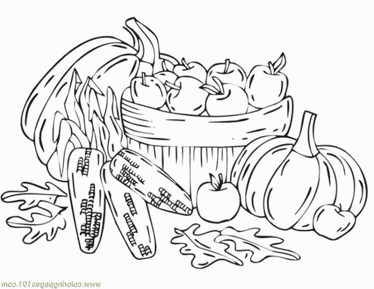 V sledek obr zku pro fall pumpkin corn vegetable coloring
