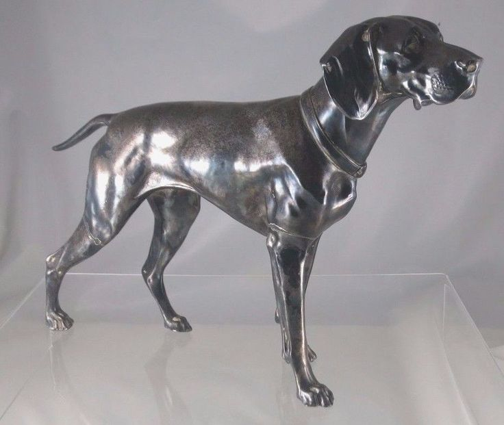 Jennings Brothers JB 2568 Dog Pointer Hunting Vintage Figurine Sculpture COLLECT