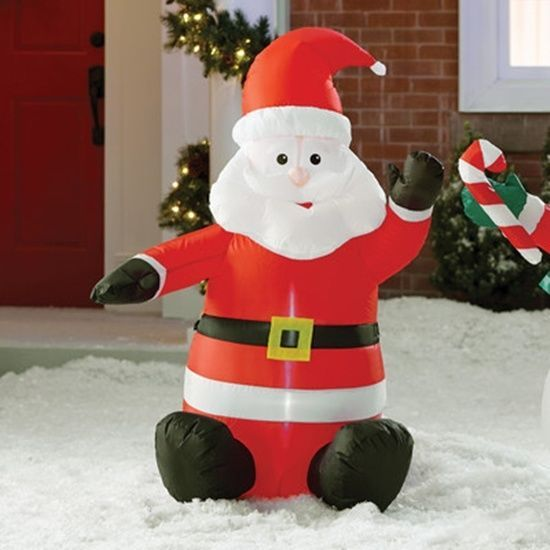 120 best Holiday Decor images on Pinterest Holiday decor - christmas blow up decorations