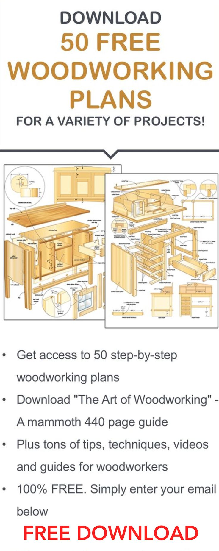 Free Woodworking projects / woodworking plans