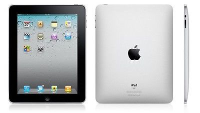 #Priceabate Apple iPad 1st Generation 32GB, Wi-Fi, 9.7in - Black - GOOD condition (R-D) - Buy This Item Now For Only: $124.85