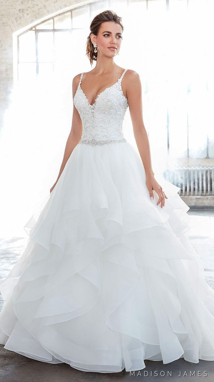 Best 25 layered wedding dresses ideas on pinterest spring madison james spring 2017 wedding dresses fall in love with this romantic bridal collection ombrellifo Gallery
