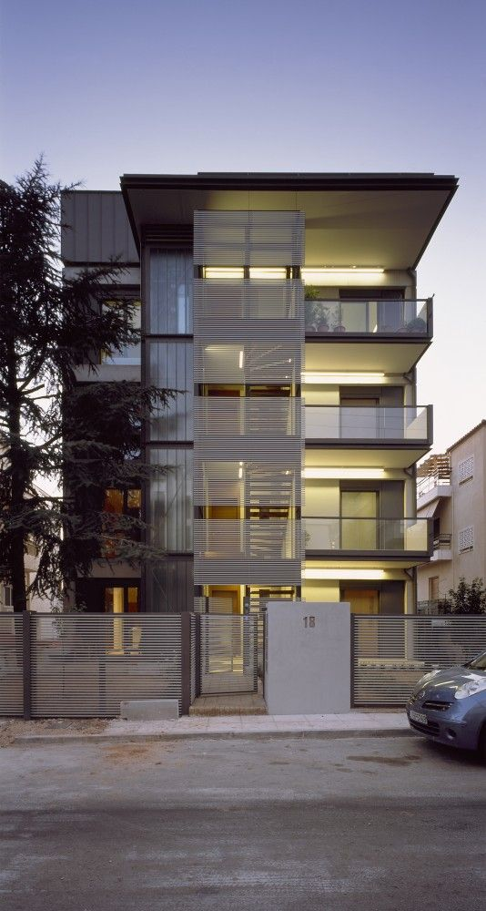 """Two Floor Addition In Existing Building In Papagou by Nelly Marda """"Location: Papagou, Greece"""" 2013"""