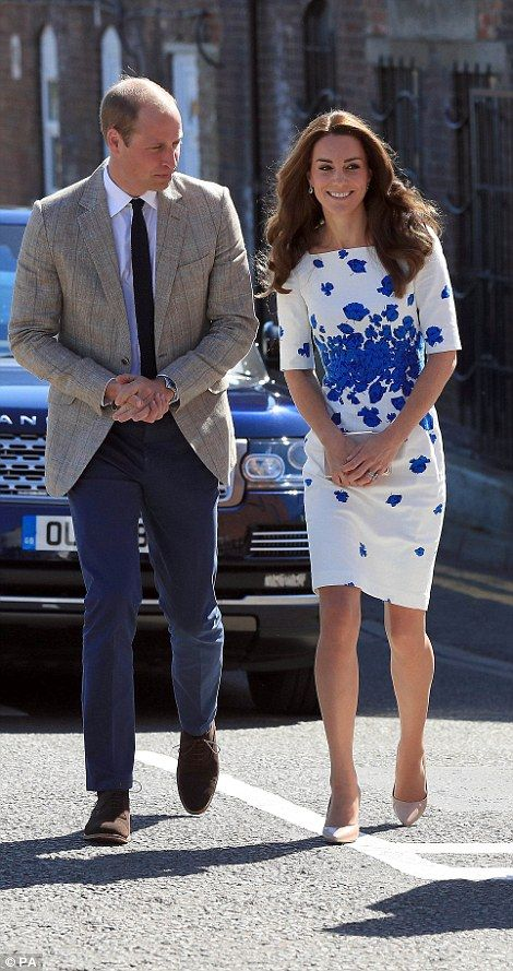 Kate wins hands down in the style stakes! William sported a country gent look…