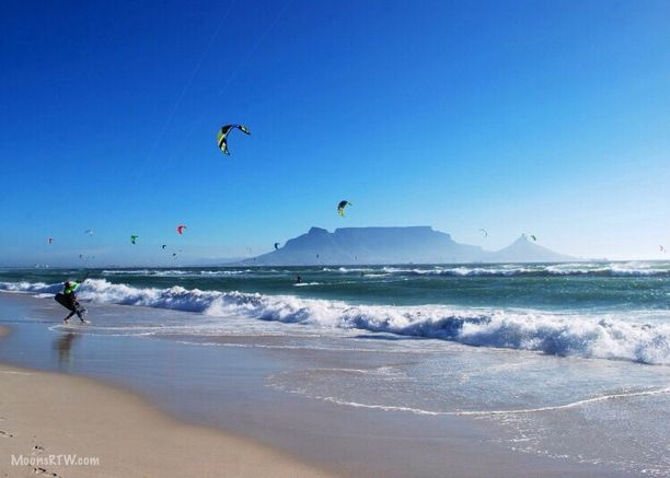 Bloubergstrand, Cape Town, South Africa — by The Honeymoon Couple. View of Table Mountain: Bloubergstrand, know to locals as Blouberg, is a very up and coming area with great...