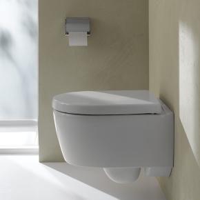 Keramag iCon xs Tiefspül-WC, kurz 6 l, wandhängend, L: 49 B: 35,5 cm ...