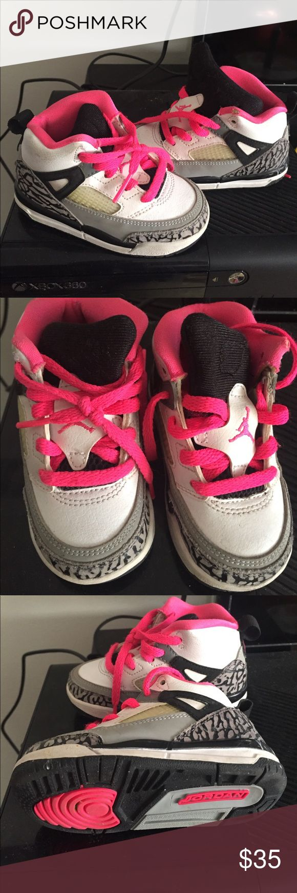 Nike Jordan Spizike toddler 6c used Good shape Nike toddler Jordan Spizike 6c Jordan Shoes Sneakers