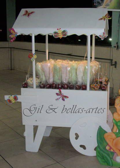 carrinho para algodão doce,maçã do amor e guloseimas R$480,00 R$ 480,00