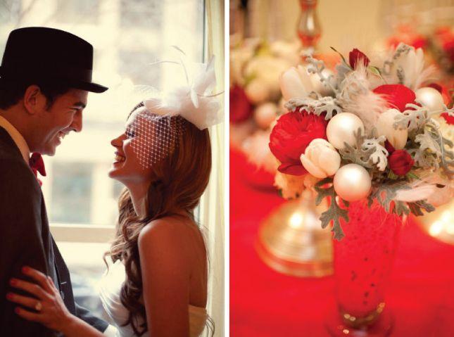 Vintage Christmas Wedding #wedding#vintage #christmas