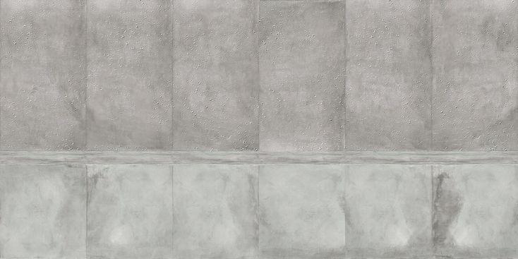 Carta da parati effetto muro panoramica BOISE Collezione Undressing Surfaces by Inkiostro Bianco design Ink Lab
