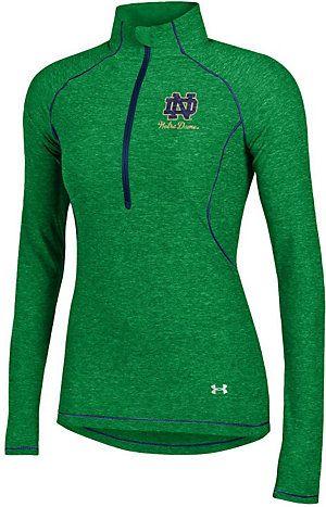 University of Notre Dame Fighting Irish Women's Tech 1/4 Zip Pullover Top | University Of Notre Dame