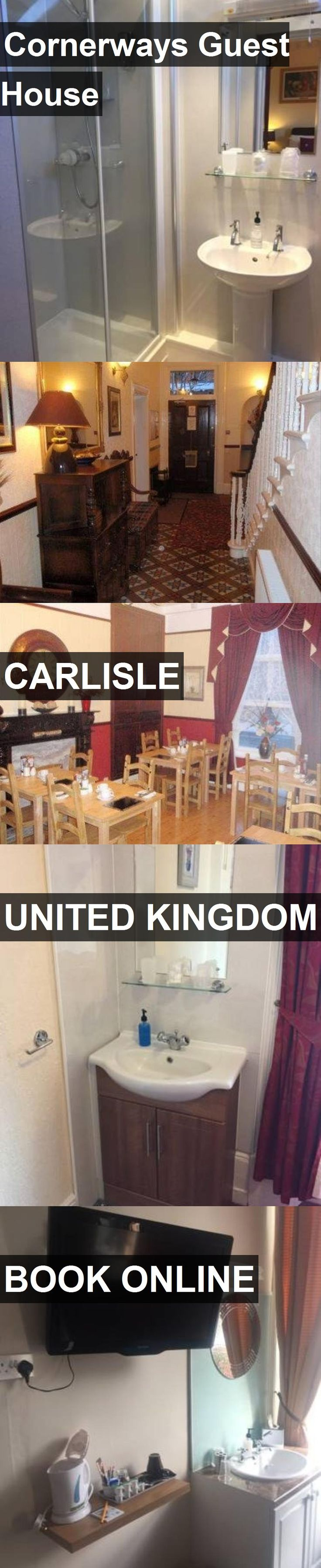Hotel Cornerways Guest House in Carlisle, United Kingdom. For more information, photos, reviews and best prices please follow the link. #UnitedKingdom #Carlisle #hotel #travel #vacation