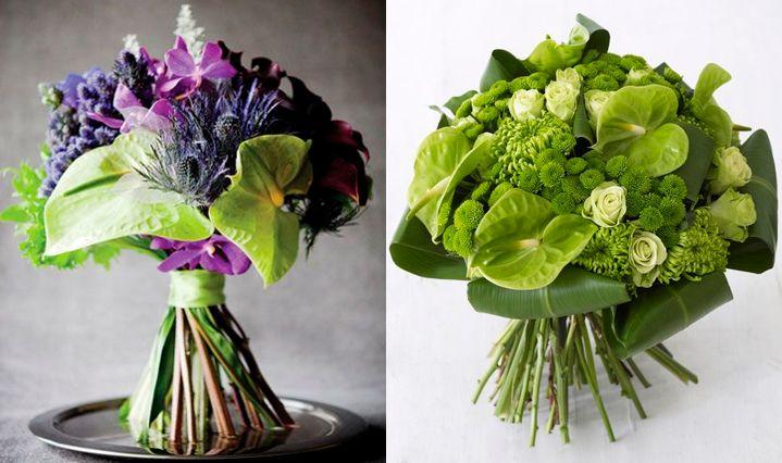 10 flores exóticas e lindas na decoração do casamento - Antúrio