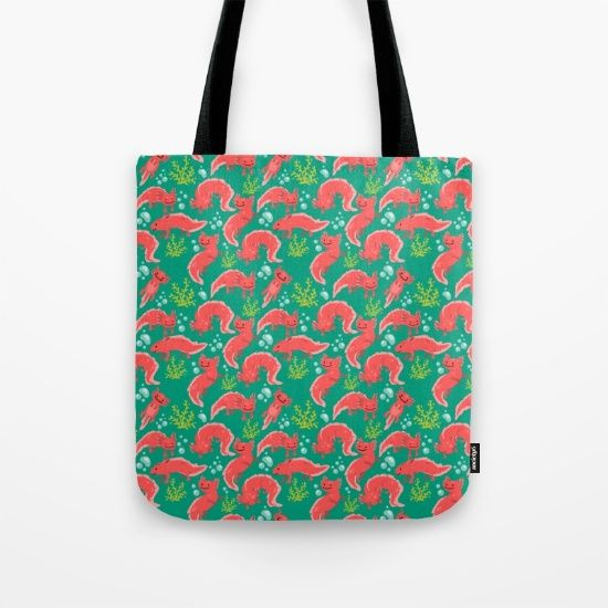 Axolotl Awesomeness Tote Bag by Erika Biro | Society6